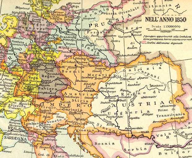 Piccola storia di annessione del Lombardo Veneto