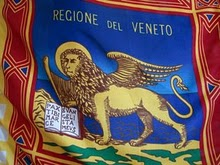 25 marzo, Stefano Zanet ed il gonfalone del Veneto