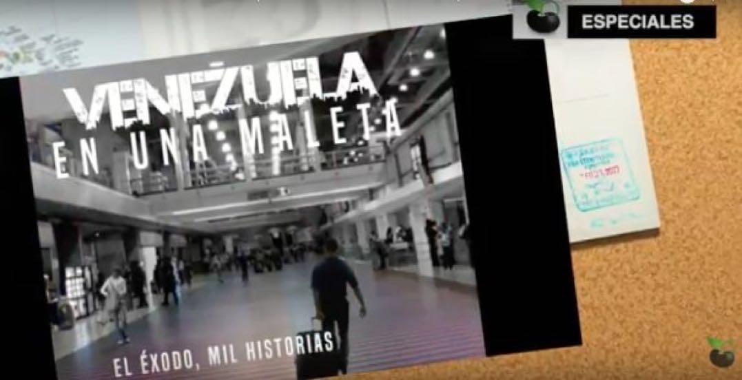 So'l Venessuoła (Venezuela), na letara de un amigo emigrà