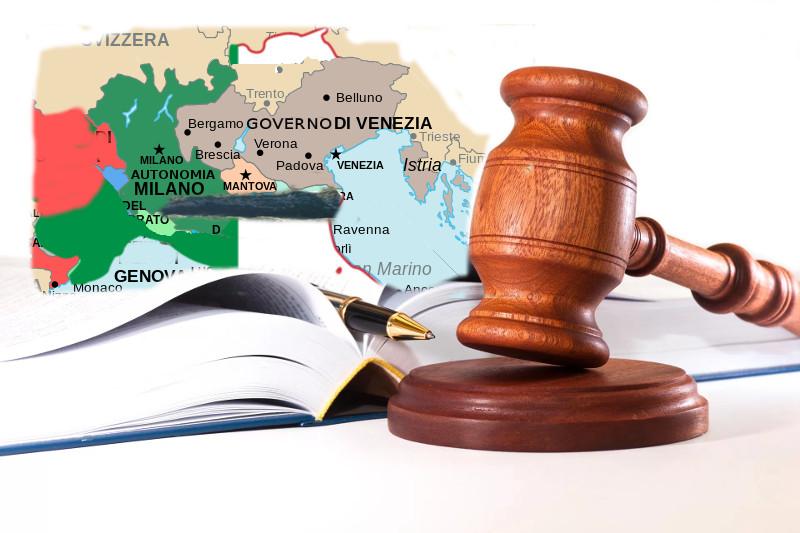 Lo scontro finale fra il popolo Veneto e lo Stato Italiano (sul piano del diritto)