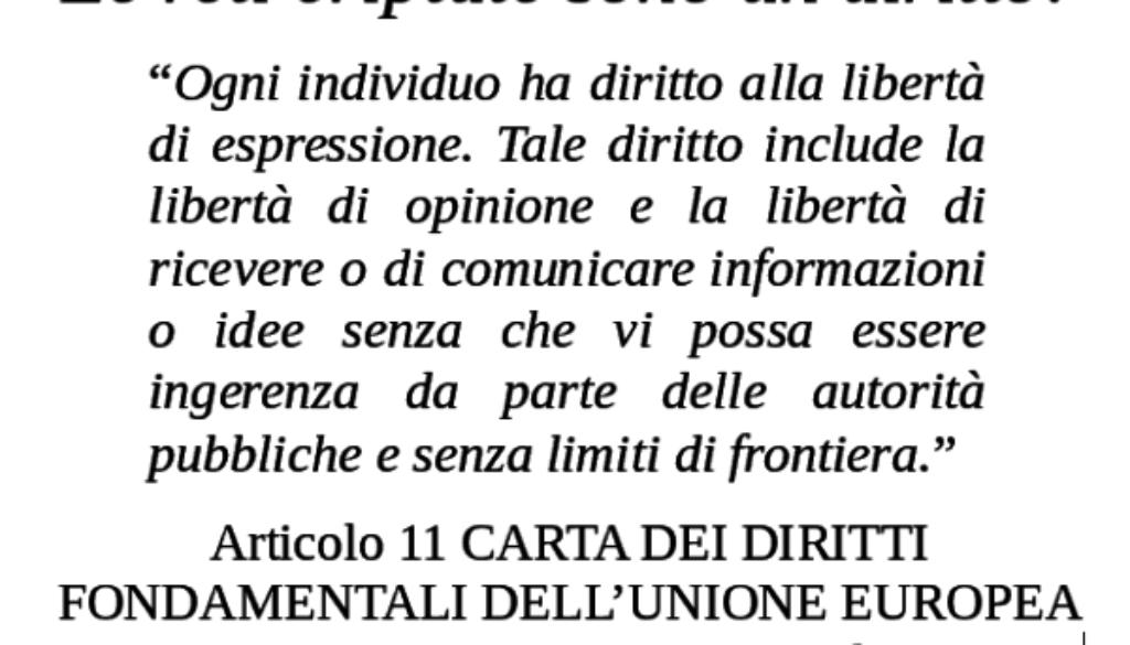 CARTA DEI DIRITTI FONDAMENTALI DELL'UNIONE EUROPEA (2000/C 364/01)