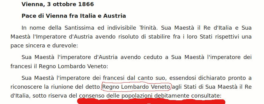 E' possibile l'indipendenza del Lombardo-Veneto? Sì ( parte 3 di 6 )